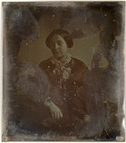 Miniaturansicht Vorschau von loose plate; portrait of unknown young woman …