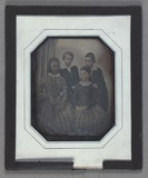 Thumbnail preview of Group portrait of unidentified children