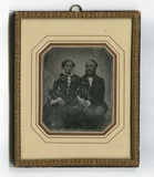 Miniaturansicht Vorschau von Doppelporträt des Ehepaares Sophie Kammeyer g…