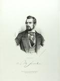 Visualizza Brustbild eines Mannes mit Vollbart, kurzen g… anteprime su