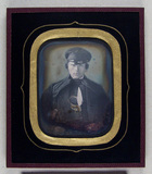 Thumbnail preview of portrait of a young man with hat