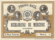Visualizza Label de Photo-Hall pour produit chimique; co… anteprime su