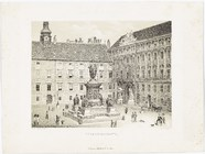 Thumbnail preview of In der Burg (Franzensplatz). Daguerreotyp - A…