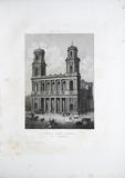 Visualizza Eglise Saint Sulpice, Paris. planche no 3, Pu… anteprime su