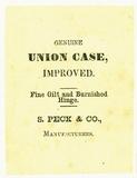 Prévisualisation de Etikett von S. Peck & Co. imagettes