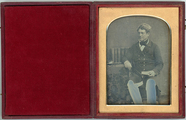 Thumbnail af Hall length portrait of a seated man, Dr Thom…