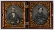 Visualizza dubbel portret,twee afzonderlijke platen, man… anteprime su