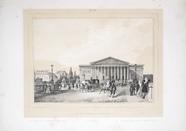 Visualizza Vue de la Chambre des députés, Paris. planche… anteprime su