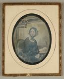 Visualizza Reproduktion: Halbfigur einer jungen Frau, mi… anteprime su