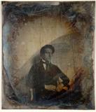 Miniaturansicht Vorschau von loose plate; portrait of Gerard Alexander Ens…