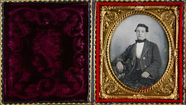Thumbnail preview of Three-quarter portrait of a young man