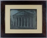 Visualizza A view in Rome showing the Northern Portico o… anteprime su
