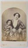Visualizza Mutter mit Tochter. Reproduktion einer Daguer… anteprime su