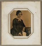 Visualizza Portrait einer jungen Frau, um 1848 anteprime su