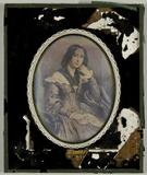 Visualizza Gemäldereproduktion einer jungen Frau mit ein… anteprime su