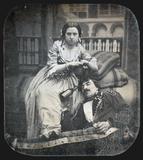 """Prévisualisation de """"Auf einem Diwan sitzt ein Mädchen, dessen Ab… imagettes"""