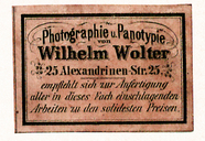 Visualizza Etikett von Wilhelm Wolter anteprime su