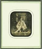 Visualizza Junge Frau in orientalischem Dekor, Frankreic… anteprime su