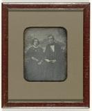 Miniaturansicht Vorschau von Portret van een onbekende man en vrouw voor e…