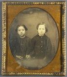 Miniaturansicht Vorschau von Bildnis von zwei Geschwistern, Mädchen und Ju…