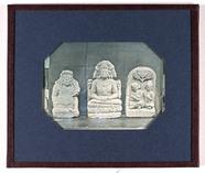 Visualizza statues of a temple guard and the Hindu god B… anteprime su