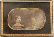 Thumbnail af Portrait of unidentified man and woman