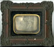 Visualizza Familienbild, Frankreich, um 1850. anteprime su