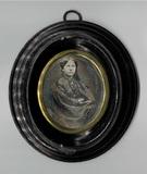 Forhåndsvisning av Dreiviertelporträt einer unbekannten Dame. Si…