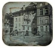 Visualizza Statue équestre de Rudolf von Erlach (1299-13… anteprime su