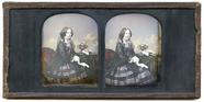Miniaturansicht Vorschau von Die stark kolorierte Stereoaufnahme zeigt ein…