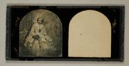 Visualizza Hermann Krone als Dame verkleidet, 1857, Ster… anteprime su