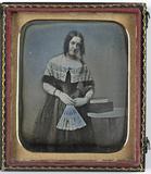 Visualizza Portret van een vrouw met waaier anteprime su