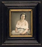 Miniaturansicht Vorschau von Academic study, woman with uncovered shoulder…