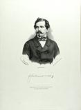 Visualizza Brustbild eines Mannes mit Kaiser-Wilhelm-Sch… anteprime su