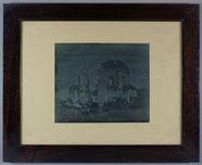 Miniaturansicht Vorschau von View in Rome of the remains of the Temple of …