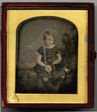 Visualizza Portrait of a child probably a boy wearing am… anteprime su