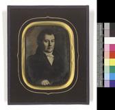 Thumbnail preview of Halbfiguriges Porträt eines unbekannten Manne…