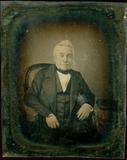 Visualizza Three-quarter lenght portrait of an older man… anteprime su