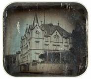 Visualizza Façade sud du château de l'Aile, Vevey. [Vue … anteprime su