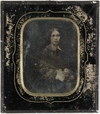 Visualizza Portrett av kvinne, Gunhild Marie Hauge f. Br… anteprime su