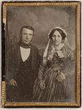 Visualizza Herr J. Mendel und seine Frau anteprime su