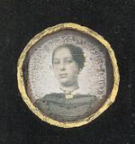 Thumbnail preview of Mädchenbrustbildnis, um 1850.