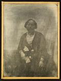 Miniaturansicht Vorschau von Portrait of an unknown woman holding an alman…