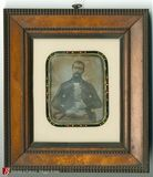Miniaturansicht Vorschau von Half length portrait of seated man named Carl…