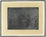 Visualizza Daguerreotypie naar schilderij/gravure L. Rob… anteprime su