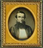 Thumbnail preview of Mann mit ungewöhnlichem Bart, USA, ca. 1850.