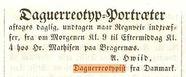 Visualizza Daguerreotypisten A. Hviid fra Danmark annons… anteprime su