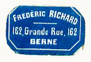 Visualizza Etikett von Frederic Richard anteprime su