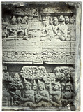 Esikatselunkuvan relief of the main wall, first gallery, at th… näyttö