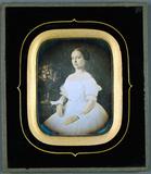 Visualizza Koloriertes Frauenportrait, Frankreich anteprime su